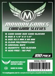 Mayday Games Card Sleeves 7041 (63,5x88mm)
