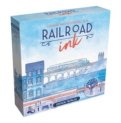 Railroad Ink: Edition Tiefblau