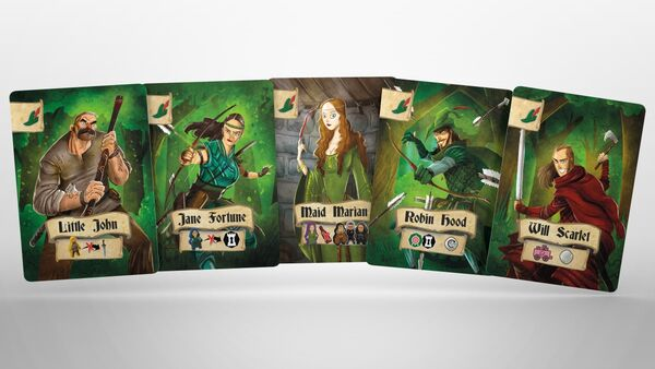 Robin Hood and the Merry Man (englisch)