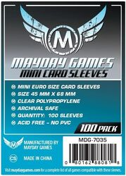 Mayday Games Card Sleeves 7035 (45x68mm)