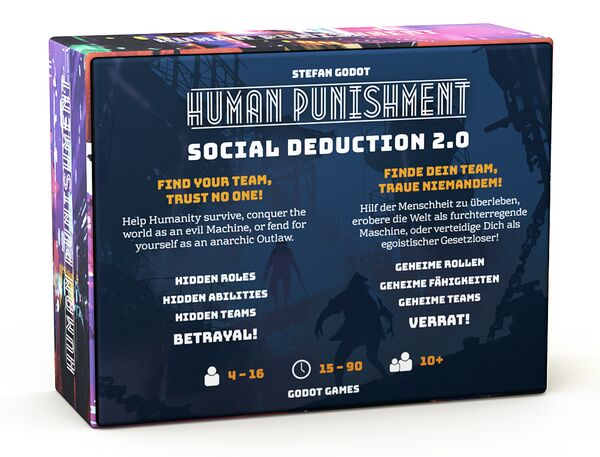 Human Punishment: Social Deduction 2.0