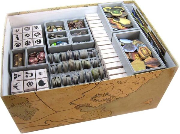 Folded Space Insert für Gloomhaven
