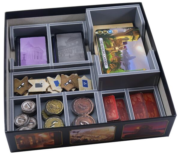 Folded Space Insert für 7 Wonders Duel