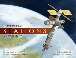 Leaving Earth: Stations v2 (Erweiterung, englisch)