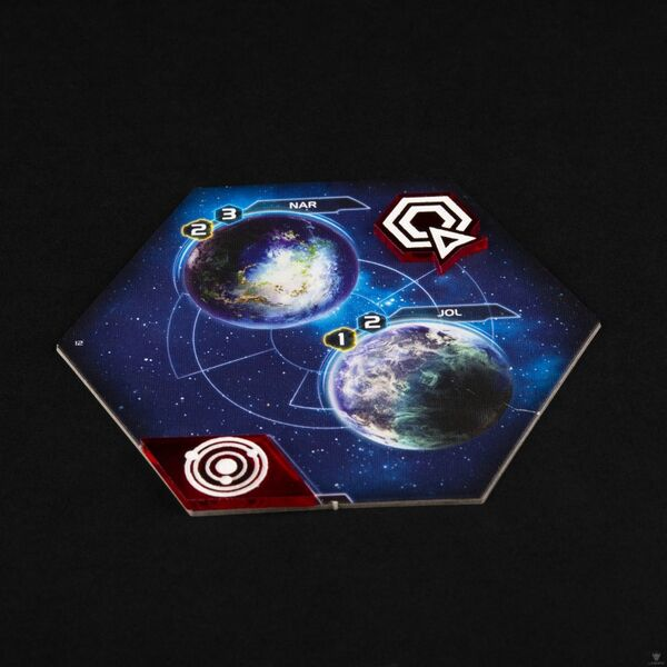 Twilight Imperium: Command & Control Tokens (black)