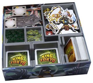 Folded Space Insert für King of Tokyo / King of New York (v2)