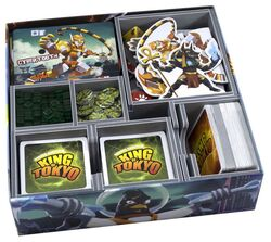 Folded Space Insert für King of Tokyo / King of New York...