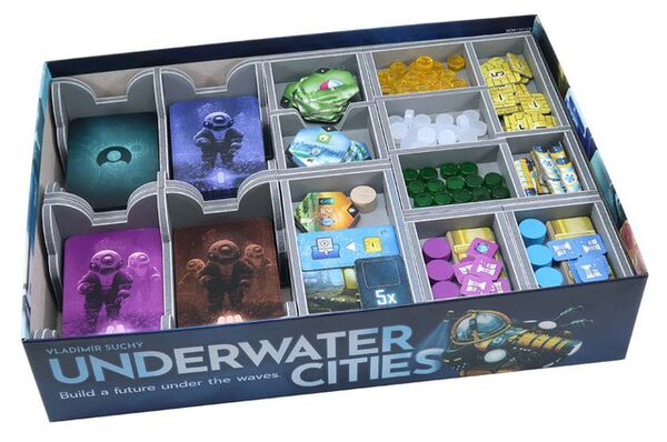 Folded Space Insert für Underwater Cities
