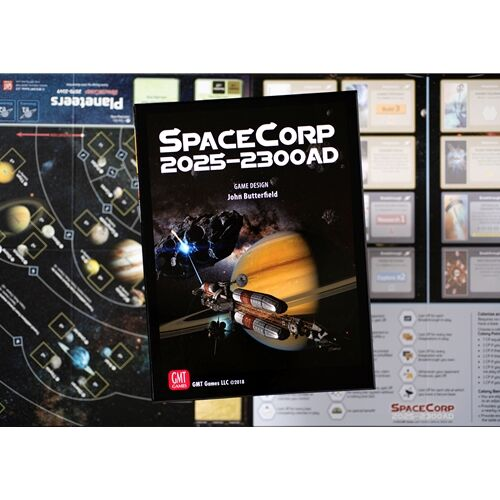 SpaceCorp: 2025-2300 AD (englisch)