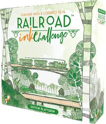 Railroad Ink Challenge: Edition Blattgrün