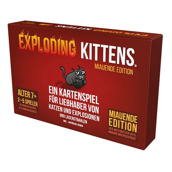Exploding Kittens - Miauende Edition