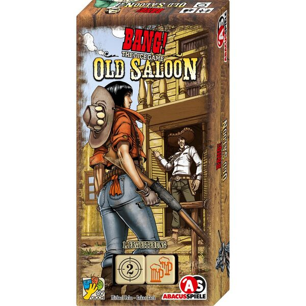 BANG! The Dice Game ? Old Saloon (Erweiterung)