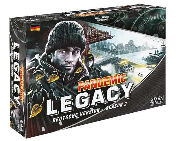 Pandemic Legacy - Season 2 - Schwarze Edition