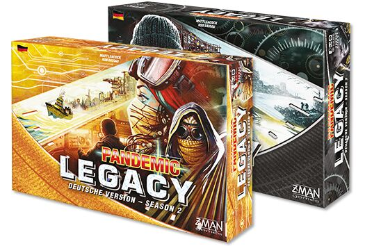 Pandemic Legacy - Season 2 - Gelbe Edition