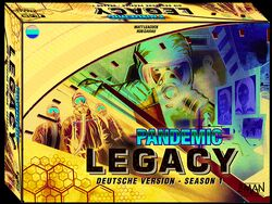 Pandemic Legacy - Season 1 - Blaue Edition